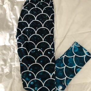 NEW LuLaRoe Mermaid Printed Leggings